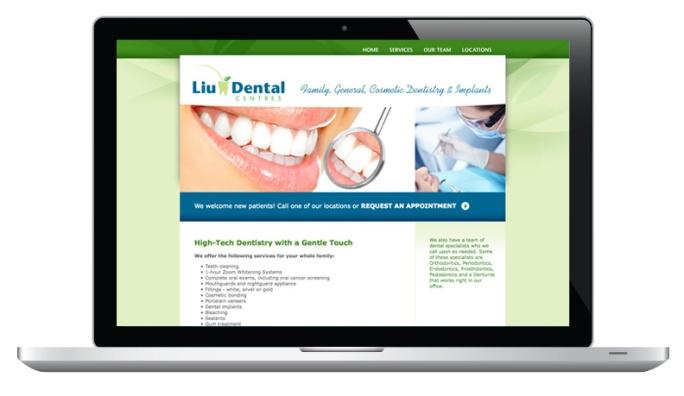 liudental_website_laptop